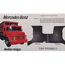 Tapete Borcol Cabine Caminhão Mercedes-benz Antigos 2 Peças