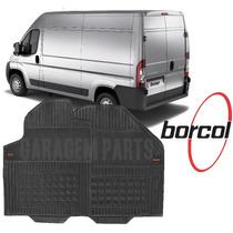 Tapete Borracha Peugeot Boxer Borcol 1 Peça Cabine Dianteira