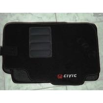 Jogo Tapete Carpete Resinado Do Honda Civic 99 A 2002