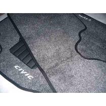 Tapete Carpete Honda Civic 2002 2003 2004 2005 2006 Bordados