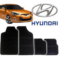 Tapete Borracha Pvc Hyundai Veloster 2011 Novos 4pçs