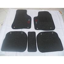 Tapete Audi A3 Em Carpete Canelado Com 5 Peças