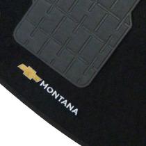 Tapete Carpete Montana 2011 12 13 14 2015 Preto C/ Logo