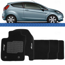 Tapete New Fiesta 2013 2012 2011 Carpete Preto