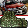 Jogo Tapete Automotivo Carro Universal Camuflado Exército