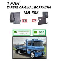 Par Tapete Borracha Original Caminhão Mb 608 708 S/feltro