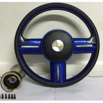 Volante Azul Sport Corsa Celta Omega Vectra Astra Prisma