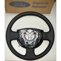 Volante Direção De Couro - Fiesta / Ecosport - Original