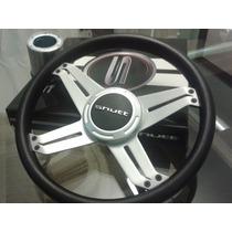 Kit Shutt 6 Itens Volante Shutt Xs+cubo+manoplas+pedal+coifa