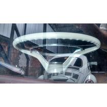 Volante Cálice Branco/gelo Aro Original Vw Fusca 1200/1300.