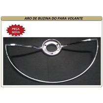 Aro De Buzina Para Volante Vw Fusca E Karmann Ghia Alumínio