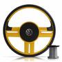 Volante Esportivo Rallye Amarelo Santana/gol Bola G2 G3 G4