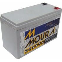 Bateria Selada 12v 9ah/20h Para Nobreak E Sist. Elet - Moura