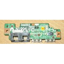 Placa Usb /rede Note Lg E500/ E50 Pn: Ms-16352 Com Flats