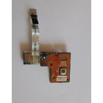 Placa Filha Botão Power + Caboflat Netbook Toshiba Ac100-10d