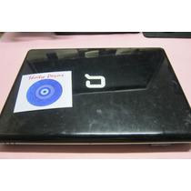 Carcaça Completa Hp Cq40+cooler+flat+dobradiças+moldura