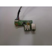 Placa Conector Fonte E Usb Hp Pavilion Dv6000 Da0at8tb8f2