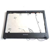 Carcaça Da Tela Lcd Notebook Positivo Ultra - Prata