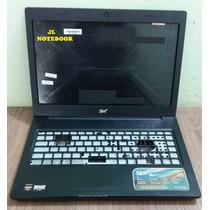 Carcaça Completa Notebook Sim+ 1050m Pra Tela De Led