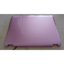 Tampa Superior Notebook Sony Vaio Vgn-cs Vgn Cs Rosa