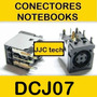 Conector Dc Comq 6515b,inspiron 6000,latitude 100 Etc. Dcj07