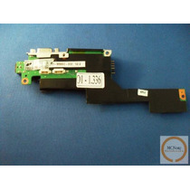 O336 Placa Conector Fonte Notebook Positivo Mobile V Z Sim+