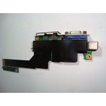 Placa Conector Dc-jack Vídeo Bateria Positivo Mobile Z77/z63