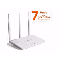 Roteador Wireless Link-one L1-rw333 - 300mbps 3 Antenas 4 Po