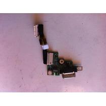 Placa Auxiliar Acer 1410 Da0zh71b4c0 Conector Vga/leds/cabo