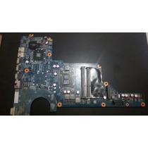 Placa Mãe Notebook Hp Dv4 Com Processador I3 Com Defeito