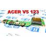 Placa Dcpower Usb Audio Acer V5 123 Séries Da0zhlpi6d0 Rev:d