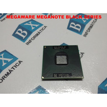 Processador Core2duo T6600 Notebook Megaware Meganote Black