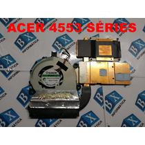 Cooler + Dissipador Do Processador Acer 4553 Séries