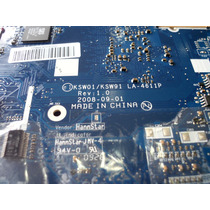 Placa Mãe Notebook Intelbras Ksw01/ksw91 La-4611p C/ Defeito