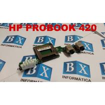 Placa Audio Leitor Cartão Notebook Hp Probook 420