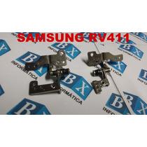 Par De Dobradiças Do Lcd Samsung Rv411