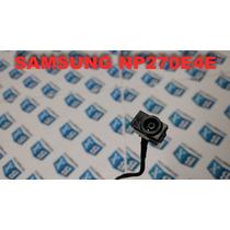 Dcjack De Energia Samsung Np270e4e Np270 Séries