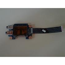 Placa Audio + Leitor Cartão Memória Notebook Lenovo G475