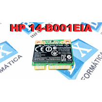 Mini Pci Wireless + Bluetooth Ultrabook Hp 14-b001eia Rt3290