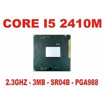 Processador Core I5 2410m Notebook 2ª Geração Sr04b Pga988