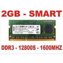 Memória 2gb 12800s Smart Ddr3 Notebook - Frete Grátis !