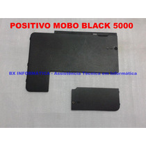 Kit Tampas Carcaça Inferior Netbook Positivo Mobo Black 5000