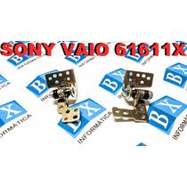 Par De Dobradiças Do Lcd Sony Vaio 61611x Vpcee Séries