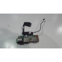 Placa Usb Conector Rj11 Notebook Itautec Infoway W7410