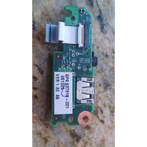 Placa Usb/som Original Hp Mini 110-1020br