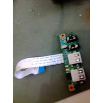 Placa Usb/audio Notebook Cce Iron 345b/787p