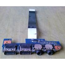 Placa Usb E Som Note Acer Aspire 4551 Hm42 Cp Frete: 6 Reais