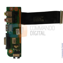 Placa Usb Som Vga Rede Para Notebook Sti Is 1413g 1412