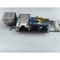 Placa Dell Latitude D620 D630 2x Usb Ethernet / Rede E Fax