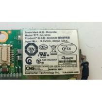 Placa Rede Ml 3054 Itautec Infoway Note W7655